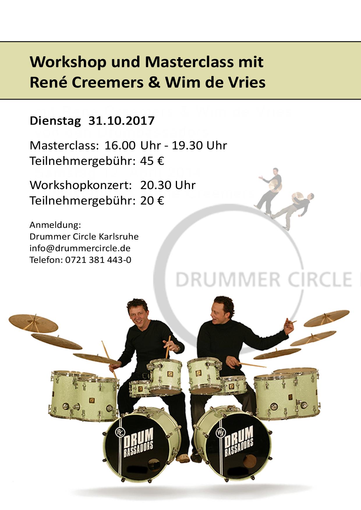 Drumbassadors 31.10.2017